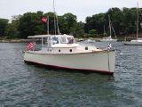 photo of 28' Bob Stephens Downeast Gentleman's Picnic Boat w/custom trailer