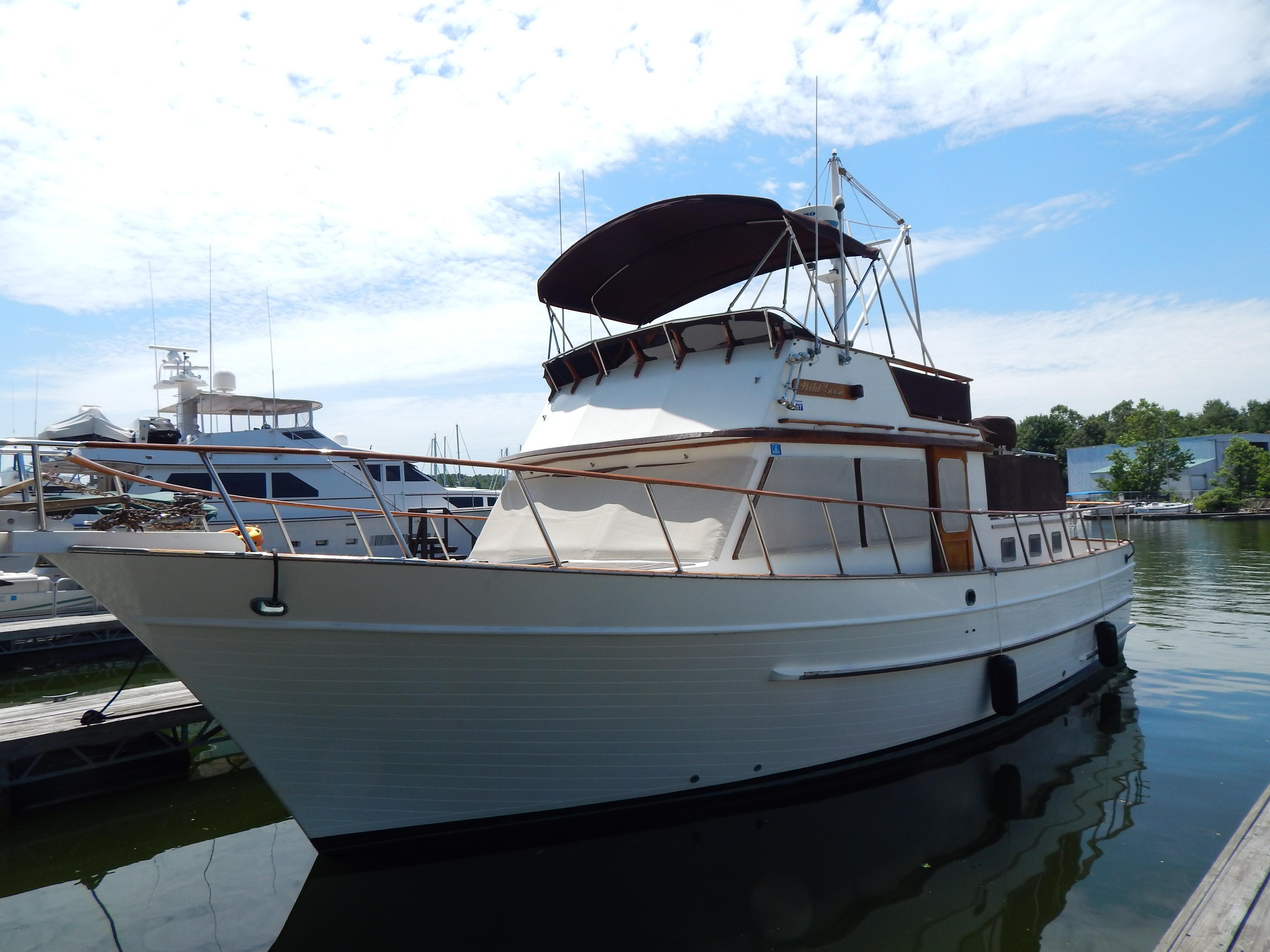Grand Rivers (KY) United States  city photos : 1989 DeFever 41 Trawler Power Boat For Sale www.yachtworld.com