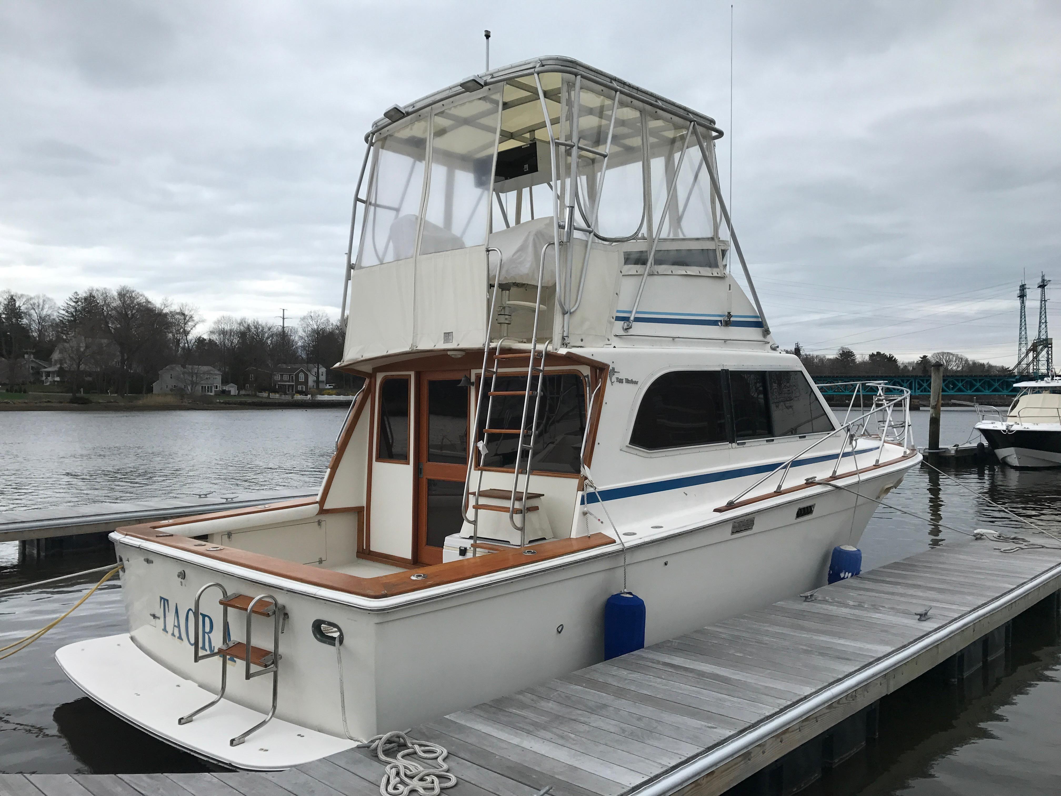 1987 Egg Harbor 33 Sport Fisherman Power Boat For Sale
