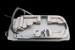 2019 Tahoe Pontoon LTZ Cruise Rear Bench - 20'