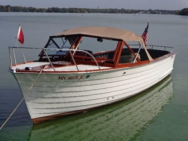 1961 chris craft sea skiff utility power new and used for Skiff craft boats for sale