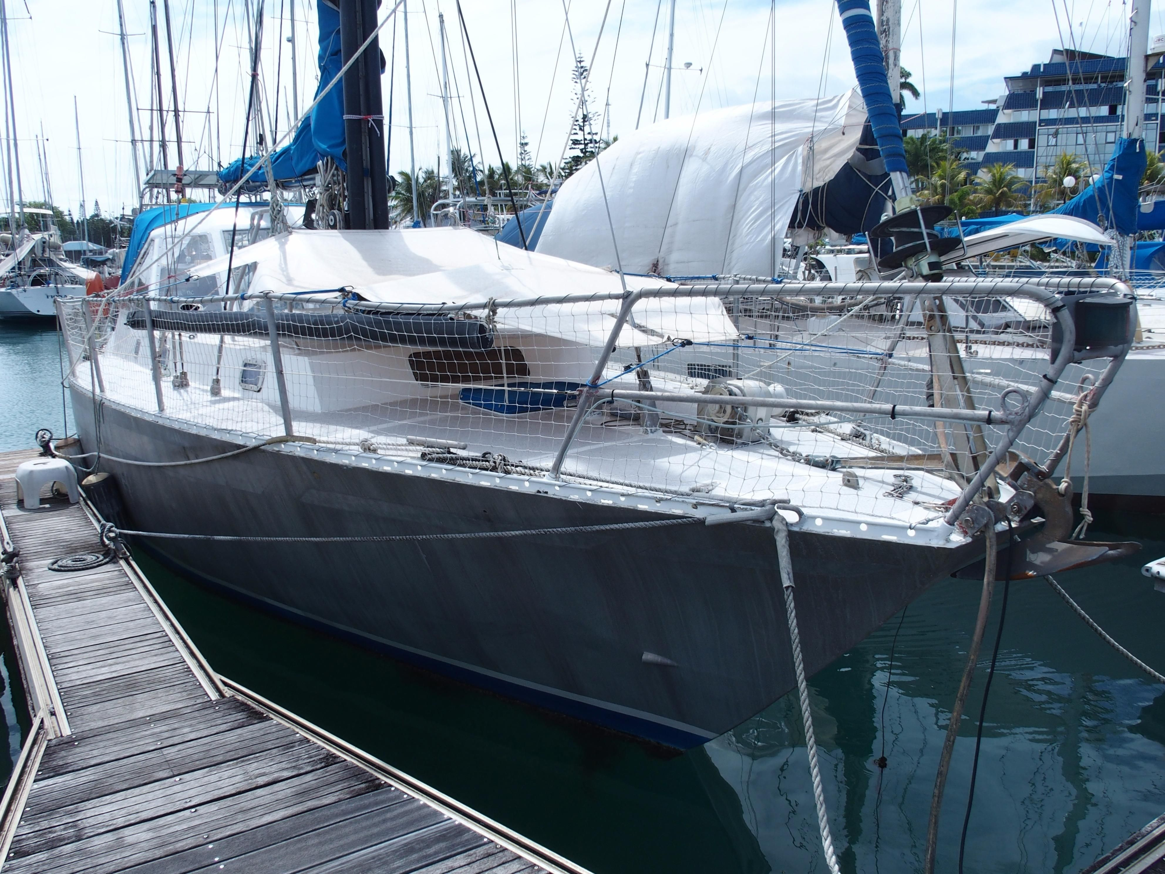 1979 Aluminium and Techniques TRISMUS 40 Sail Boat For ...