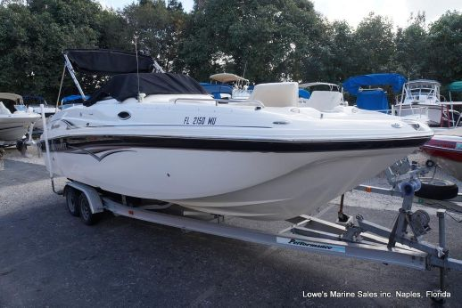 2005 Hurricane SunDeck 260 Twin Outboards