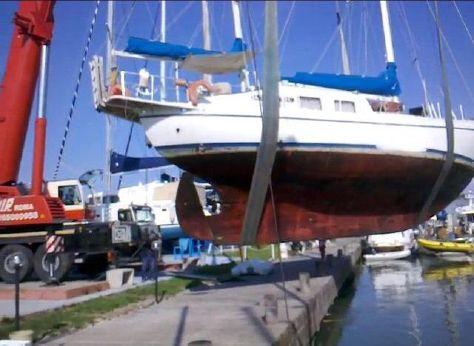1964 J. Boer Sliedrecht Netherland Dutch Steel Ketch canoe stern