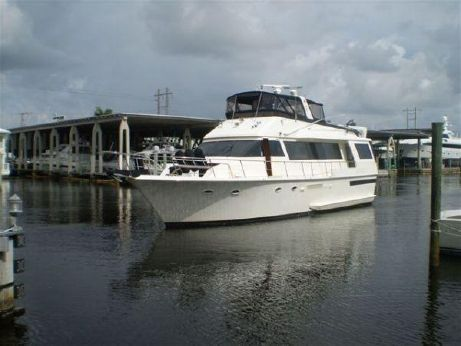 1991 Viking Yachts 63 Extended Aft Deck