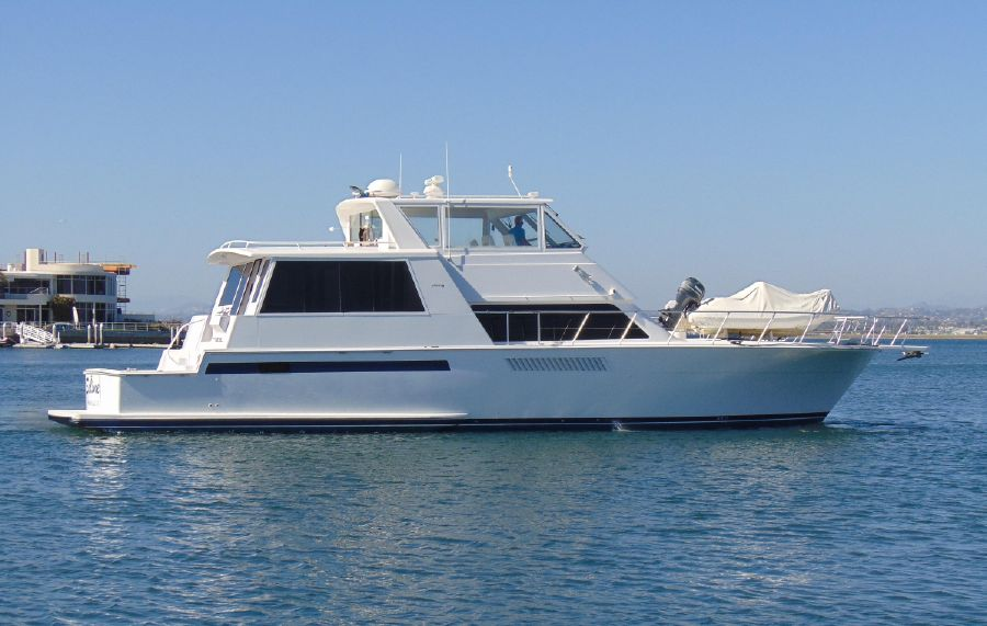 Viking 60 Cockpit Motor Yacht for sale in Coronado CA