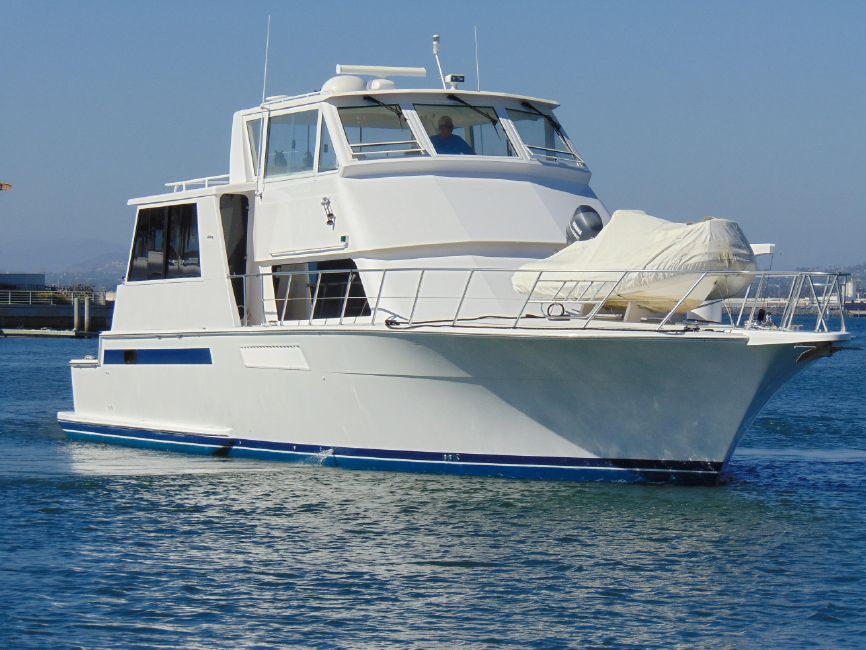 Viking 60 Cockpit Motor Yacht for sale in San Diego
