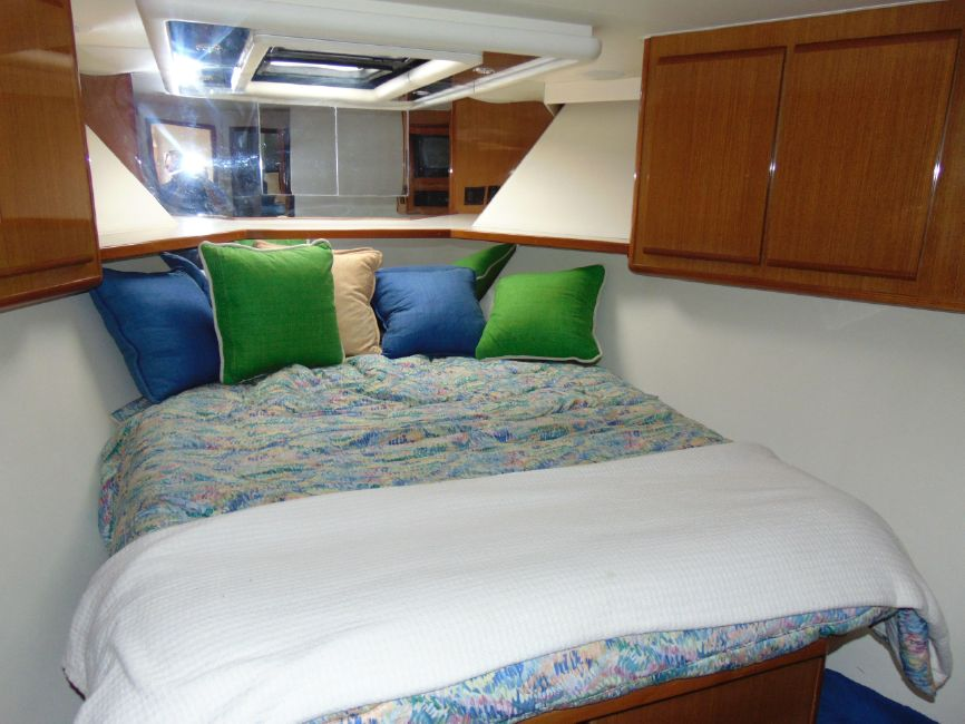 Viking 60 Cockpit Motor Yacht Forward Stateroom
