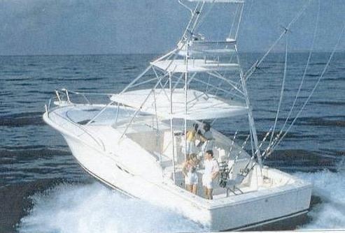1991 Luhrs 380 Open