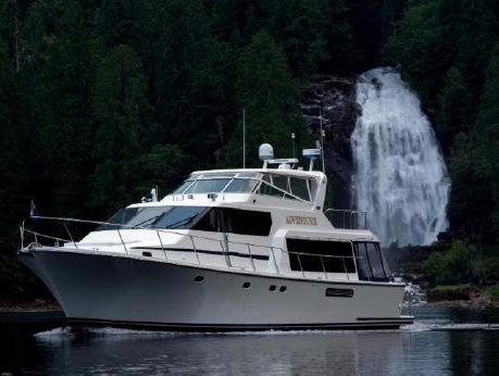 2001 Pacific Mariner Raised Pilothouse
