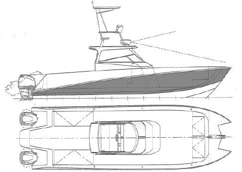 2016 Metal Shark 38 Gravois Catamaran