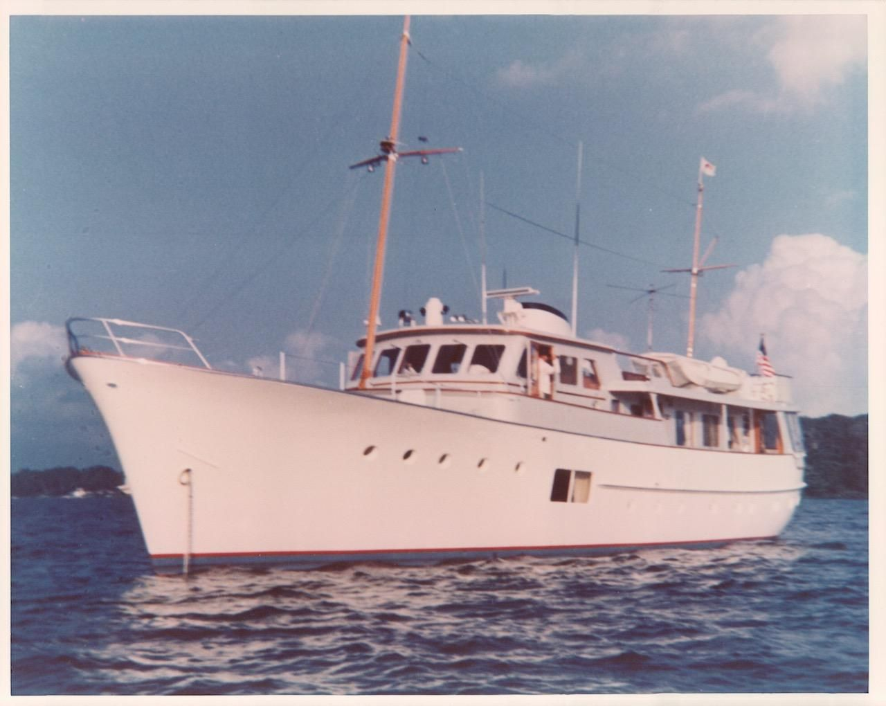 1964 Feadship Classic Canoe Stern Power Boat For Sale ...