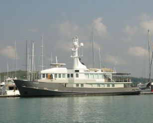 1990 Martin Francis Expedition Yacht 33m