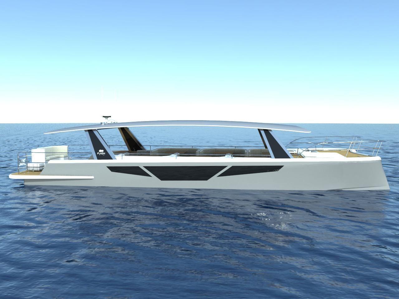 2016 Flash Catamarans FLASH CAT 58 PASSENGER Power Boat ...  2016 Flash Cata...