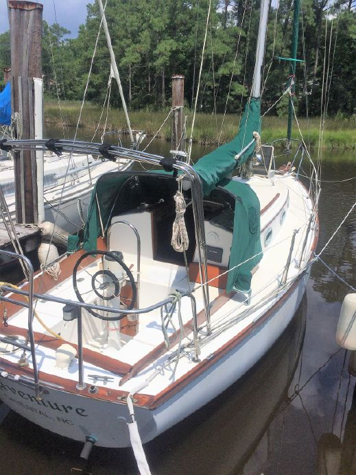 1982 Cape Dory 28 Sail Boat For Sale - www yachtworld com