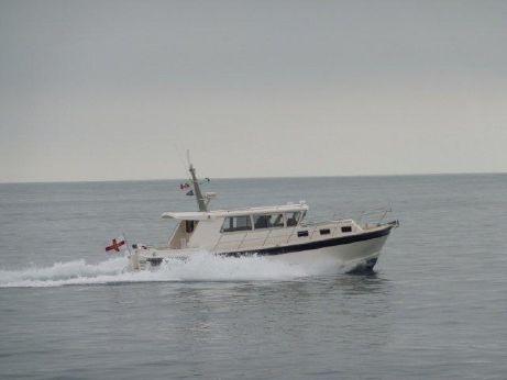 2013 Aqua Star 38 Ocean Ranger Aft Cockpit