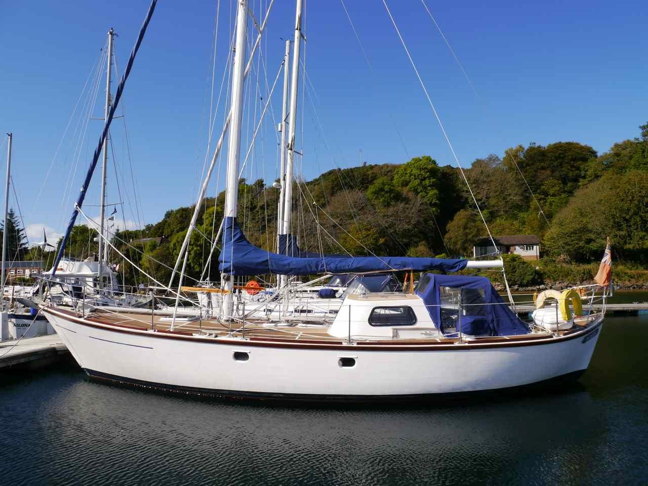 1968 william garden 40 u0026 39  double ended sloop sail new and