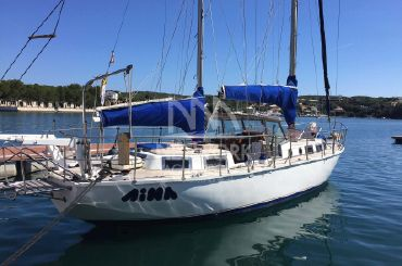 1974 Custom 38 ft Ketch Yacht