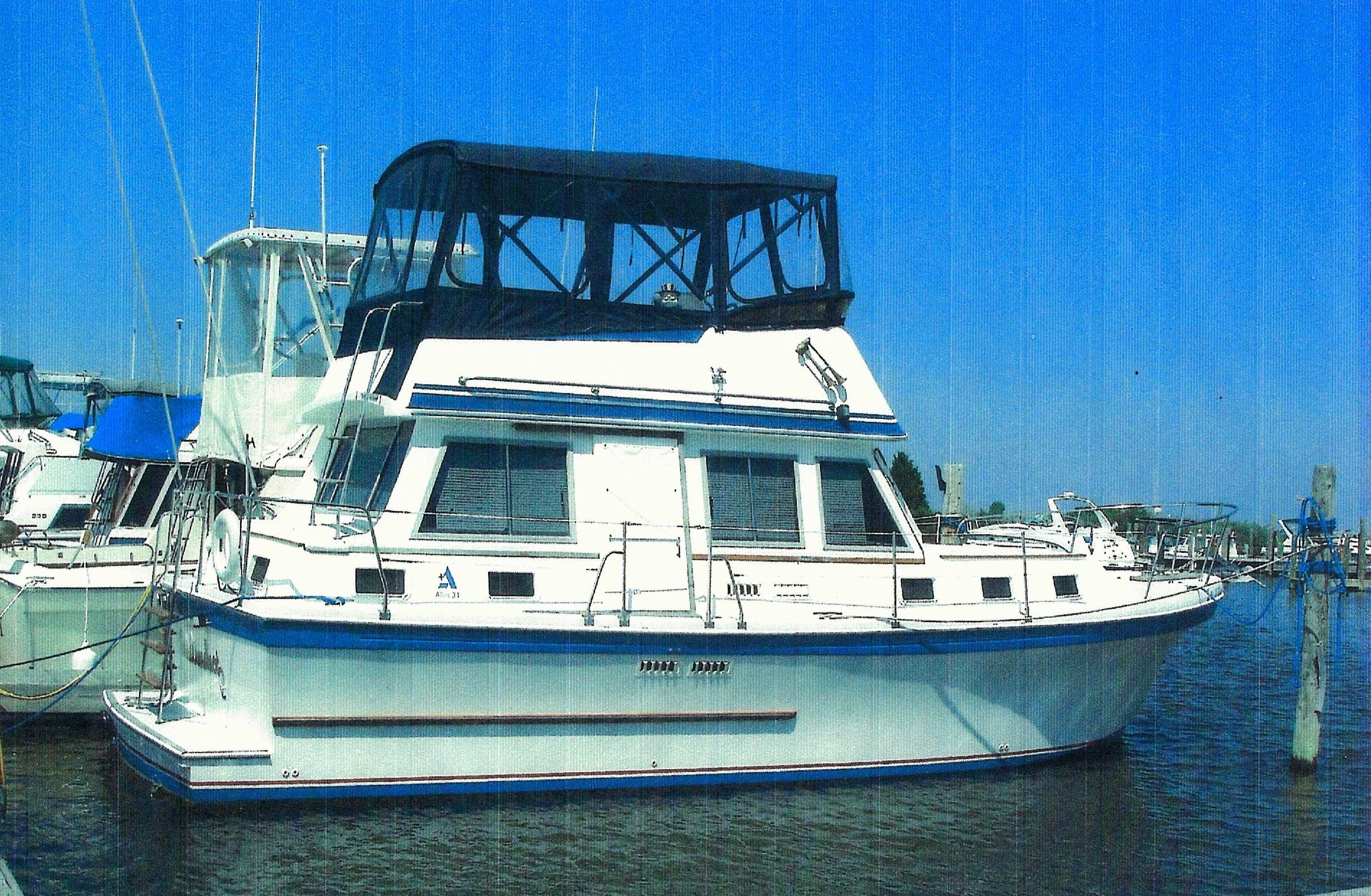1989 albin 34 motor yacht power boat for sale www for Greenes boat and motor