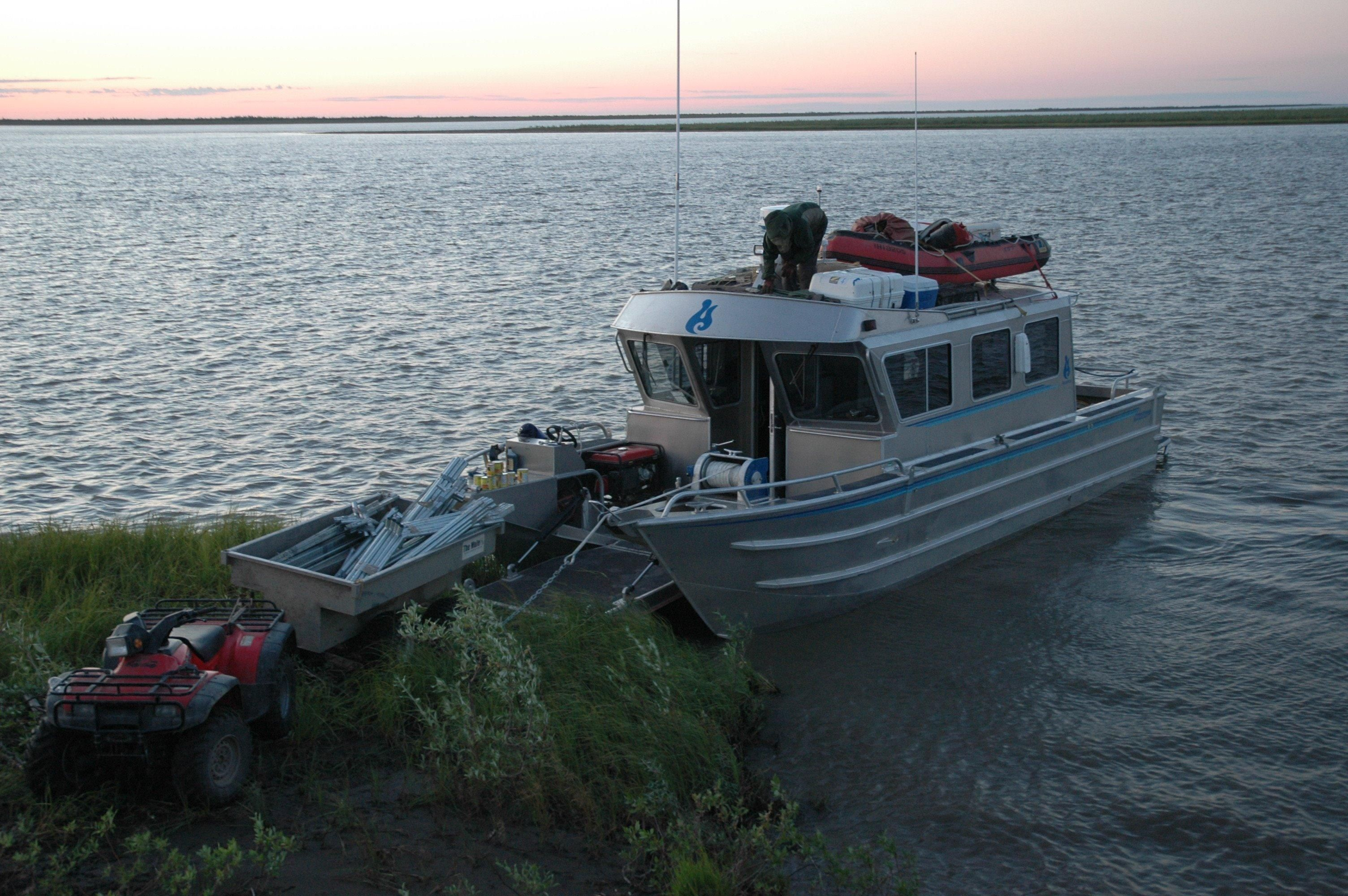 2006 Armstrong Marine 34 Bow Lander Power Boat For Sale