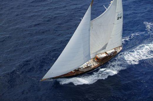1954 Burmester Staysail Schooner