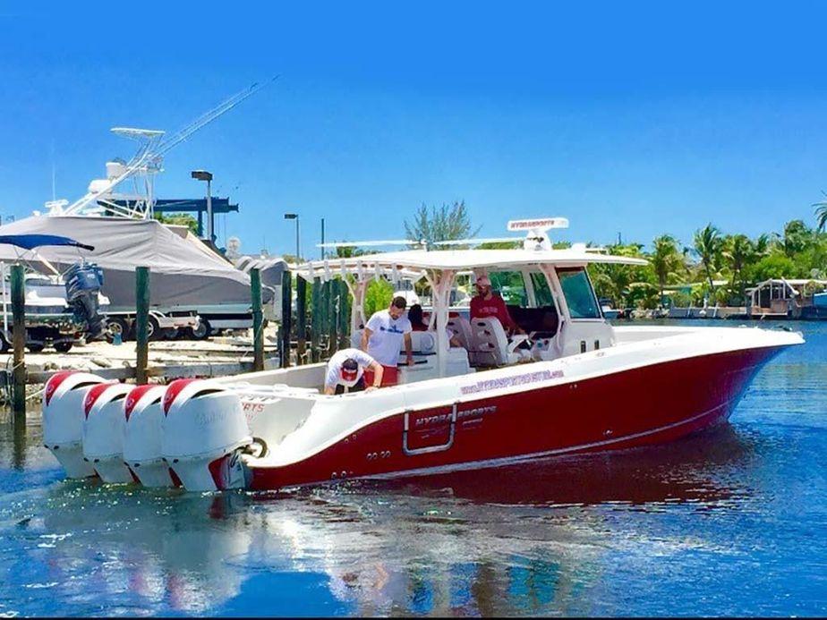 2015 Hydra-Sports 4200 Siesta CC Power Boat For Sale - www ...