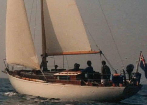 1956 Robert Clark 37' sloop