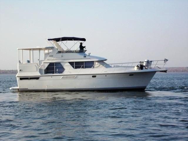1993 carver 440 aft cabin motor yacht power boat for sale for Denison motors denison tx