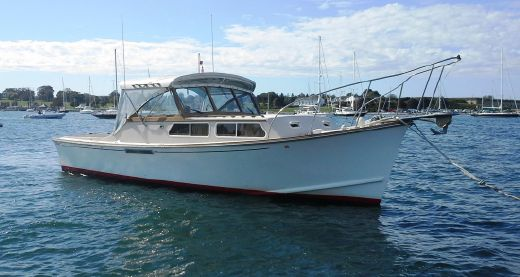 1988 Fortier Sportfish Cruiser repower 2003