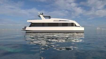 2018 Overblue Yachts Overblue Motor Yacht