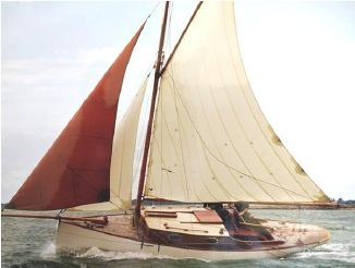 2003 Custom Gaff Cutter