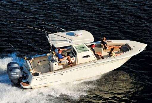 2016 Scout Boats 275 LXF with trailer