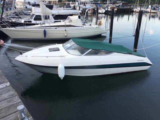 1996 Sunbird Corsair 220 Cuddy Power Boat For Sale  www