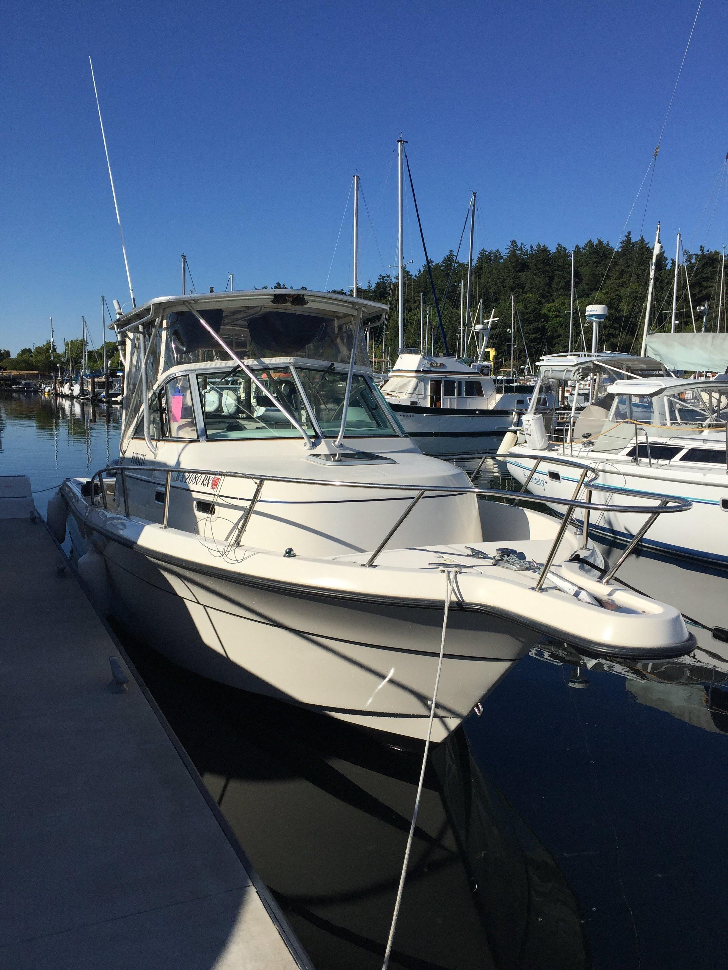 2000 Pursuit 2870 Walkaround Power Boat For Sale Www