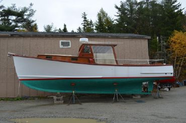 1979 Ralph Stanley Downeast Lobster Yacht