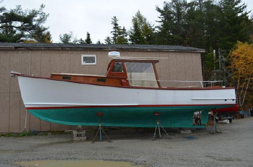 1979 Ralph Stanley Downeast Lobster Yacht