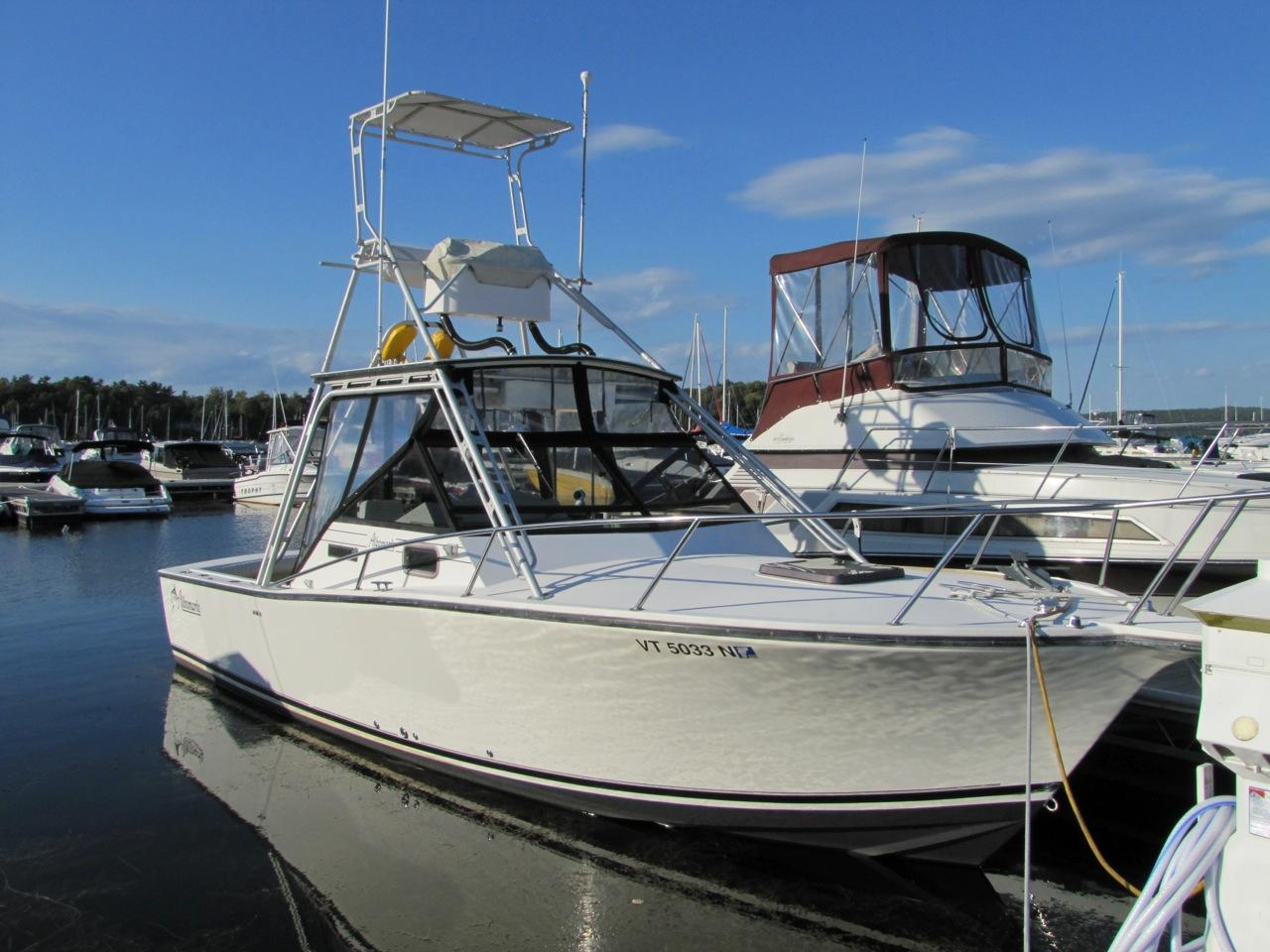 Colchester (VT) United States  city photo : 1993 Albemarle 27 express fisherman Power Boat For Sale www ...