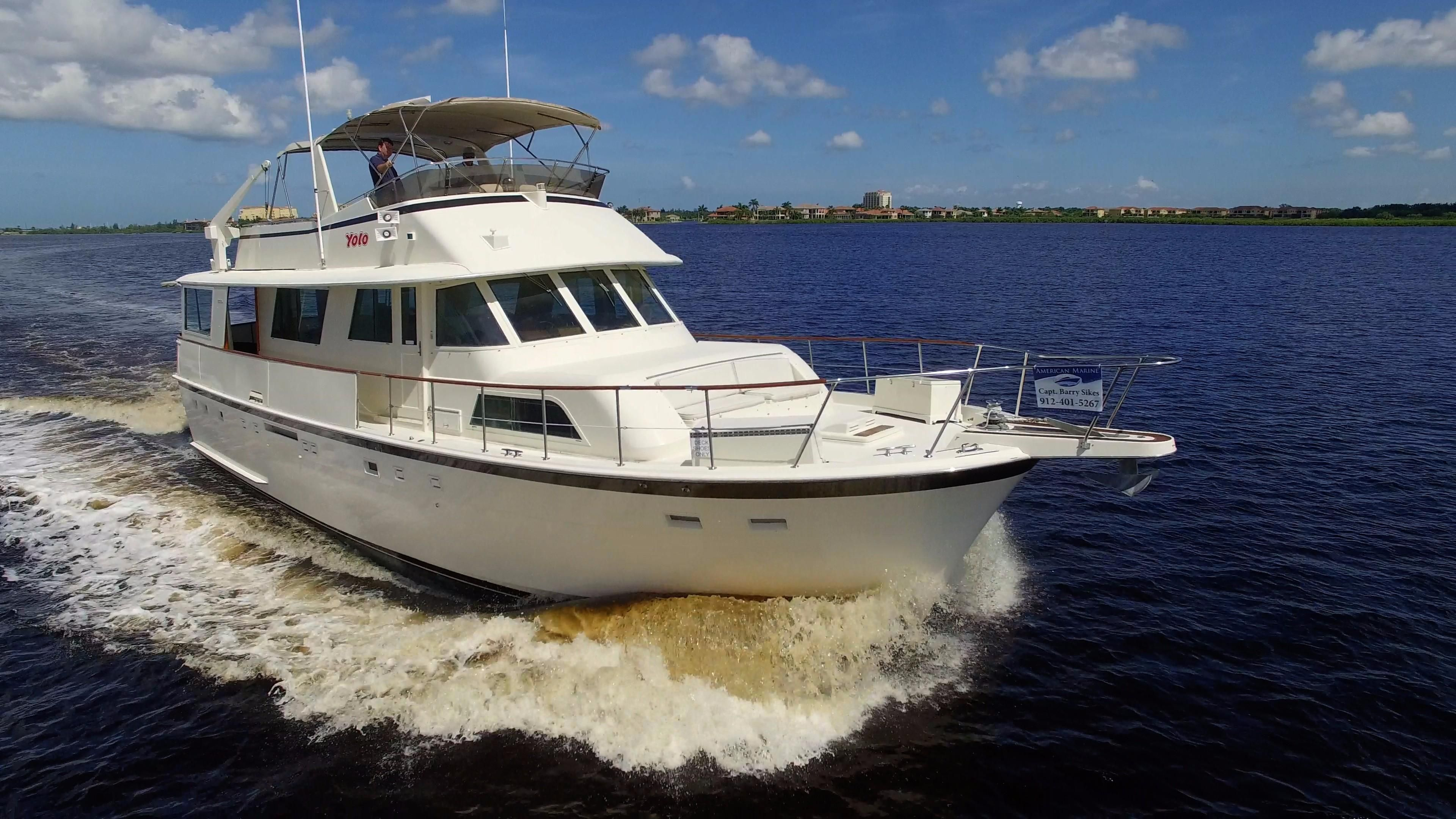 1985 hatteras 58 motor yacht power boat for sale www