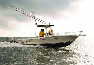2001 Sport-Craft 260 Center Console