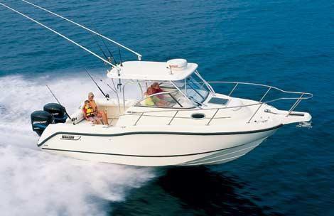 2001 Boston Whaler 255 Conquest