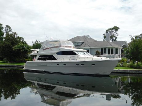 2007 Hampton 63 Pilothouse