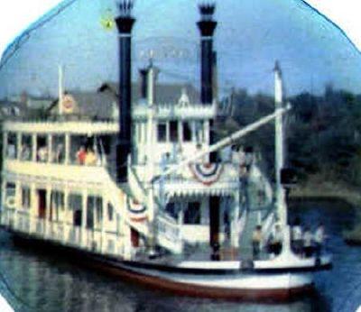 1960 Todd Shipbuilders Paddlewheeler