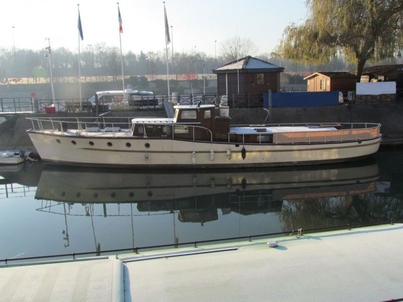 1936 classic motor cruiser power boat for sale www for Vintage motor yachts for sale