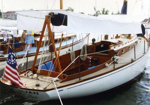1947 Sparkman & Stephens Brasil & Makinac Class Sloop by Fisher Boat Works