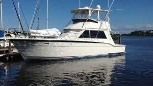1993 Hatteras 43 Sport fishing