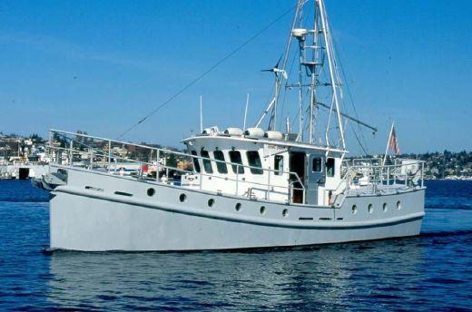 2001 Pnw Steel Trawler Diesel Duck