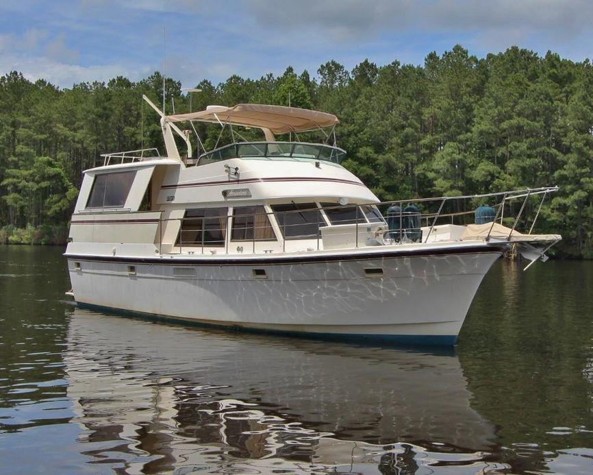 1986 Atlantic Motor Yacht Power Boat For Sale - www.yachtworld.com