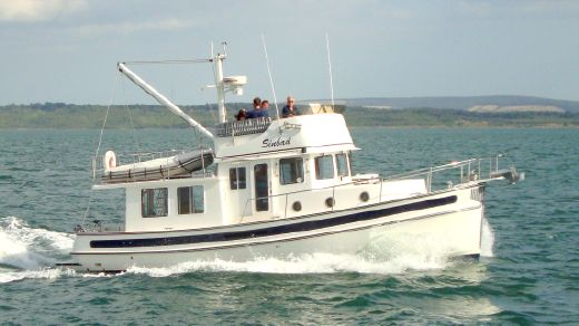 2008 Nordic Tug 37 Flybridge
