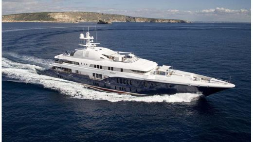 2016 60% Finished Super Yacht Suez Style