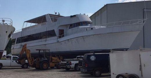 1966 Breaux Bay Aluminum Passenger Dinner Boat 130 Passengers